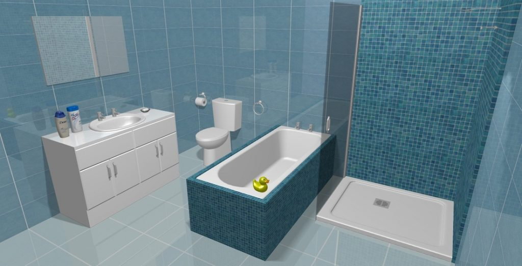 Free Glasgow Bathroom CAD drawing