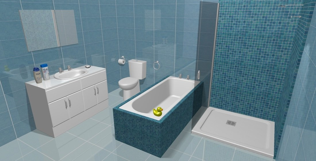 Glasgow bathroom design installation specialists for Bathroom designs top view