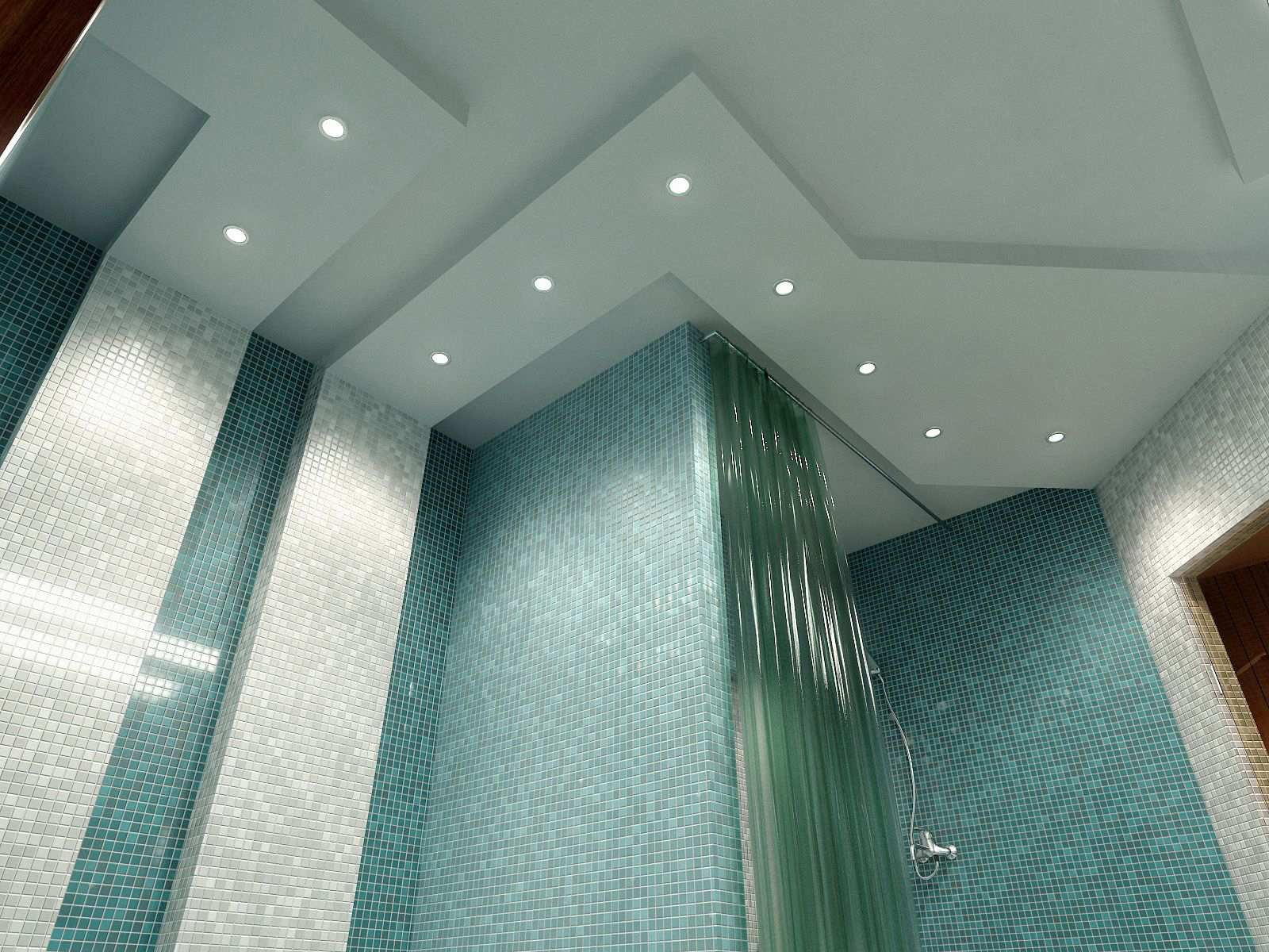 Bathroom lighting glasgow bathroom design installation for Bathroom ceiling lights