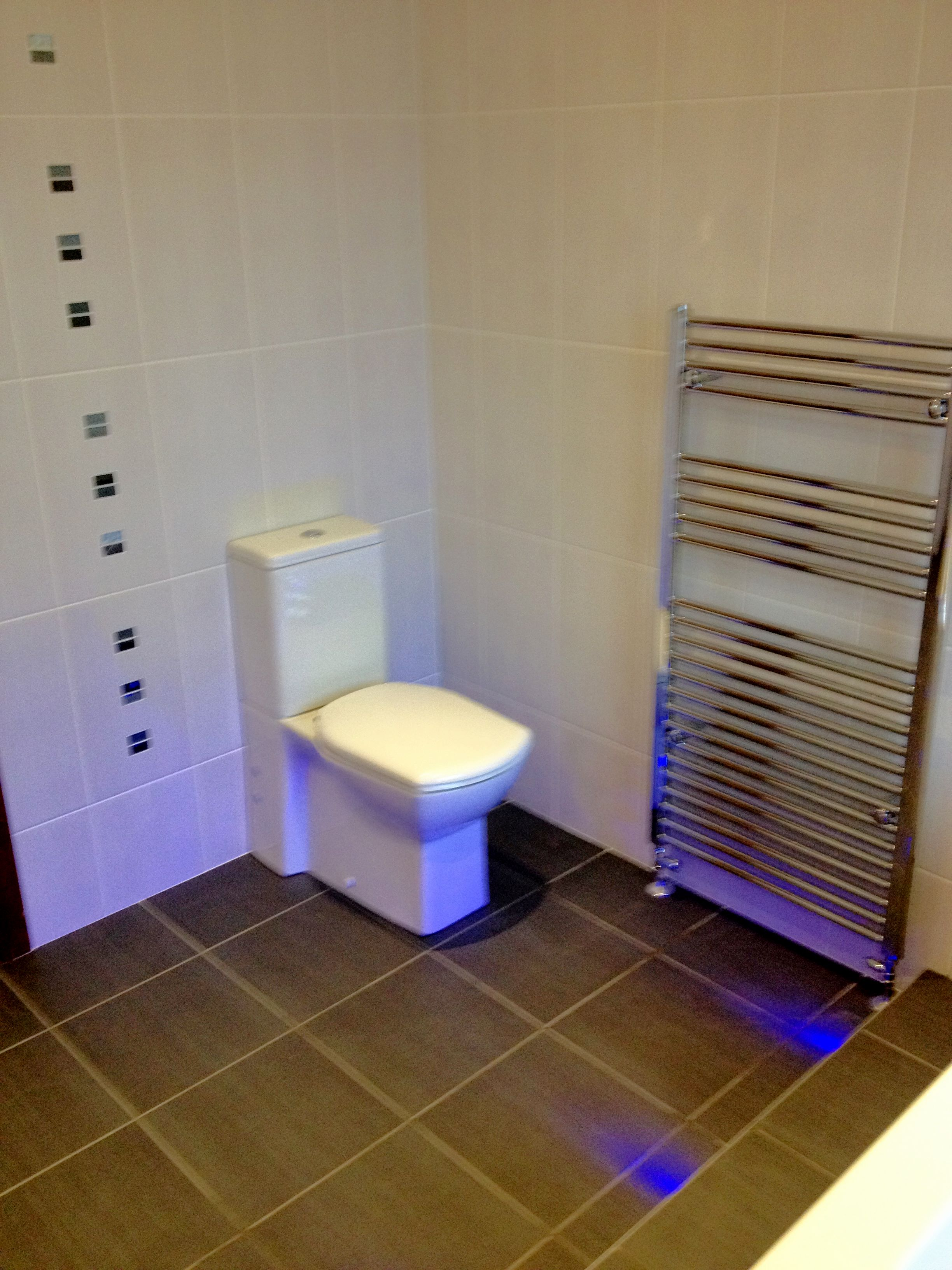 W C Moved To Opposite Wall Wemys Bay Project Glasgow Bathroom Design Installation