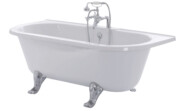 Canterbury freestanding back to wall bath (feet sold separately)