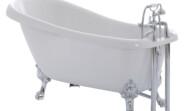 Clarendon freestanding slipper bath 1540 x 710 x 800mm