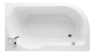 Edge luxury corner bath 1515 x 900mm