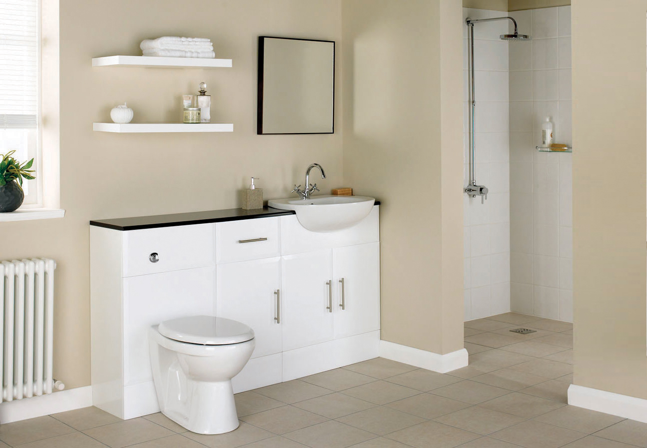 Naples Back To Wall Suite Glasgow Bathroom Design