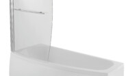 Space saver bath 1700 x 700 (narrow at bottom end