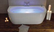 Decadence 1800 x 800 luxury bath with chromatherapy system