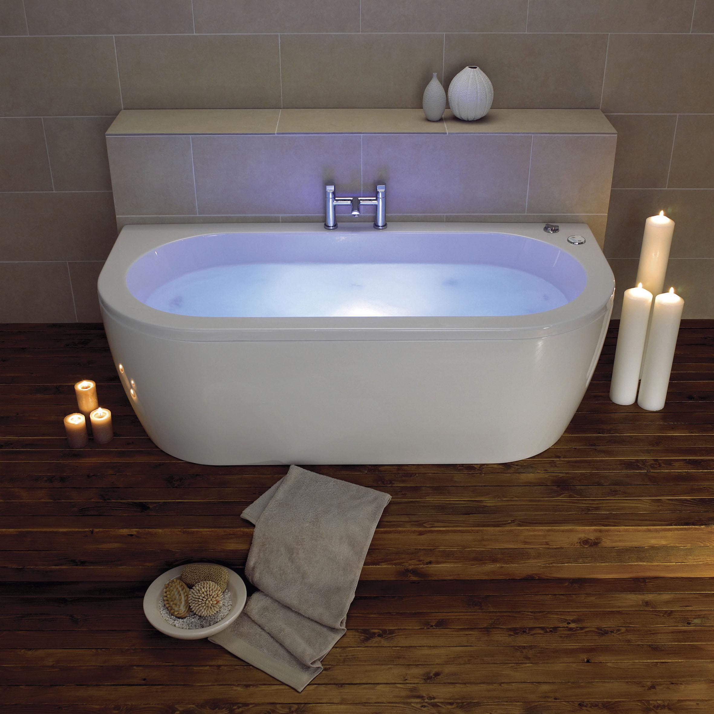 Bathroom suites glasgow - Decadence 1800 X 800 Luxury Bath With Chromatherapy System