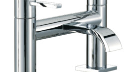The Wave range of brassware will instantly bring your bathroom up to date.